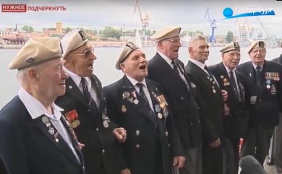 Открытие памятника Полярным конвоям в Санкт-Петербурге