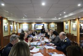 Совещание по подготовке к 100-летию подъема Андреевского флага на ледоколе «Красин»