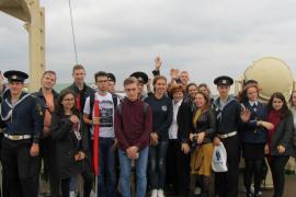 Студенты Морского технического колледжа им. адмирала Д.Н.Сенявина посетили музей «Ледокол «Красин»