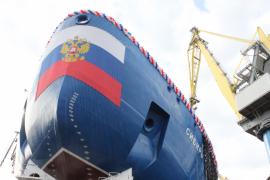 В Петербурге 22 сентября 2017 г. спустили на воду атомный ледокол «Сибирь»