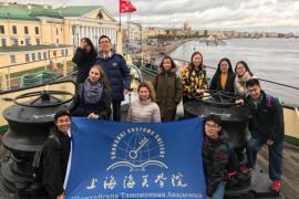 Студенты Шанхайской Таможенной Академии посетили Музей «Ледокол «Красин»