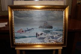 Итальянский художник Джованни Парлато передал в дар музею картину
