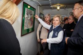 Торжественное открытие выставки «Янтарная каюта. Путешествие натуралиста продолжается…»