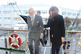 Принц Майкл Кентский посетил ледокол  «Красин»