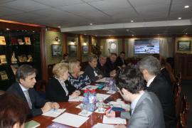 Первое заседание оргкомитета по подготовке празднований юбилея спасения экспедиции Умберто Нобиле