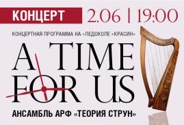 2 июня концерт ансамбля арф «Теория струн»