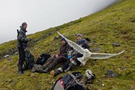 Первый  этапа работ экспедиции «Открытый Океан: Архипелаги Арктики – 2018» выполнен