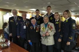 Встреча к 75-летию полного освобождения Ленинграда от фашистской блокады