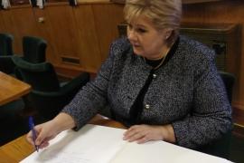 Премьер-министр Норвегии посетила ледокол
