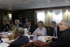 Заседание Межведомственной комиссии по морскому культурному и историческому наследию Морской коллегии при Правительстве Российской Федерации