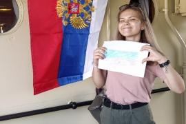 День флага Российской Федерации на ледоколе