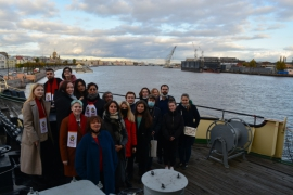 24 октября на борту ледокола «Красин» состоялся второй экспериментальный обучающий семинар «Модель Совета Баренцева/Евроарктического региона» (International Model Barents/Euro-Arctic Council, IMBEAC-2