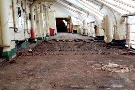 О реставрации верхней палубы ледокола